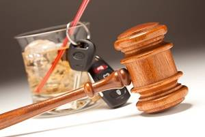 Alcohol, Keys and Gavel