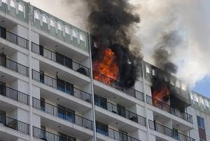 Apartment in Fire