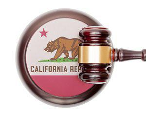 California Badge and Gavel