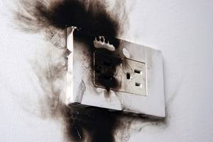 Electrical Fire Outlet