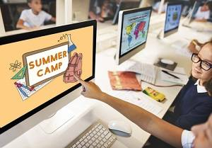 Summer Camp Ad in Computer